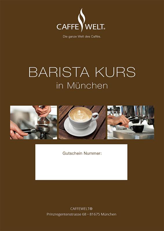 Baristakurse München Caffewelt
